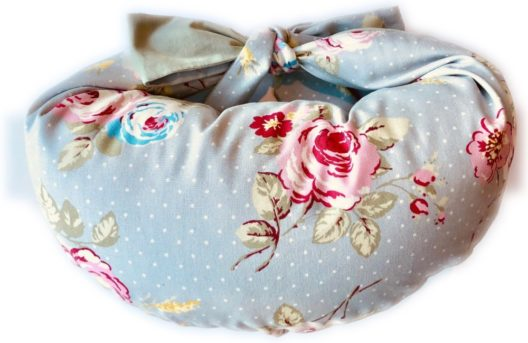 Classic breastfeeding pillow-grey-floral