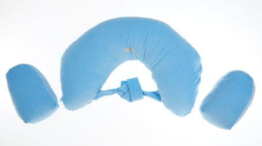 Twins Breastfeeding Cushion - Blue
