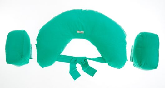 Breastfeeding Pillow for Twins - Green