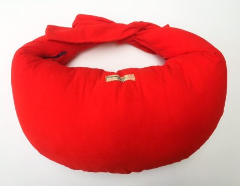 Nursing Pillow in Corduroy - Vermillion Red