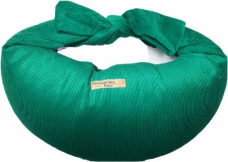 Breastfeeding Pillow in Corduroy - Green