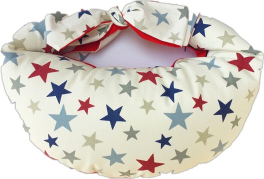 Breastfeeding Pillow Classic - Stars Red
