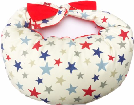 Pillow Stars Red for Large Baby