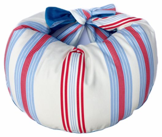 Blue stripe Nursing Pillow for Large Baby