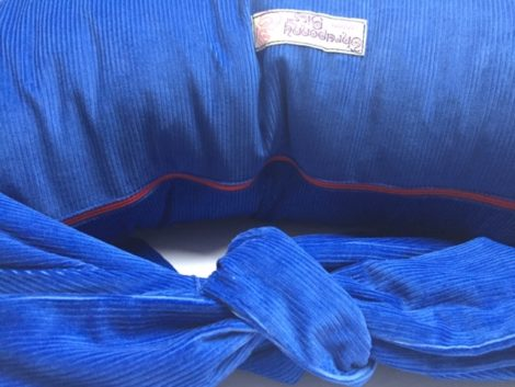 Breastfeeding Pillow in Sapphire Blue