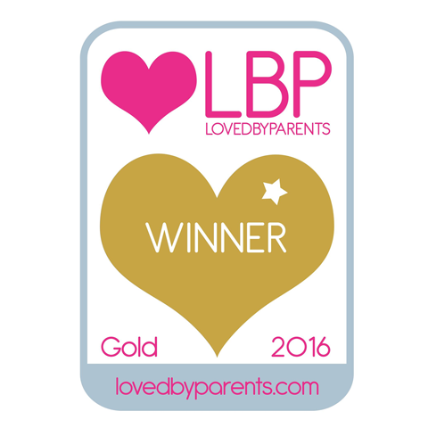 Loved by Parents Gold Award Winner